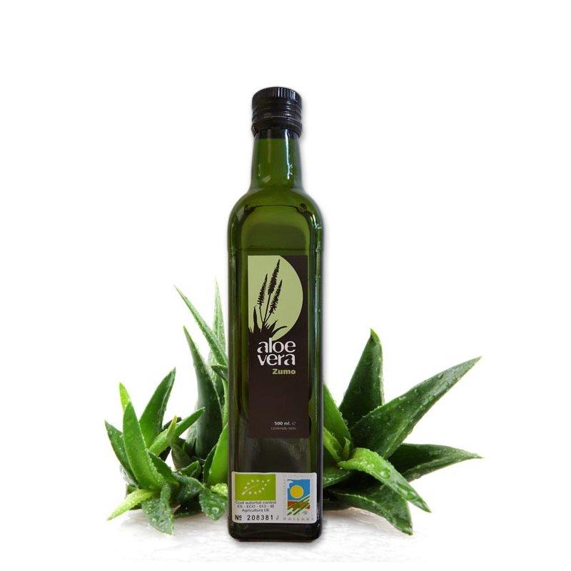 99,8% reiner Aloe Vera Saft
